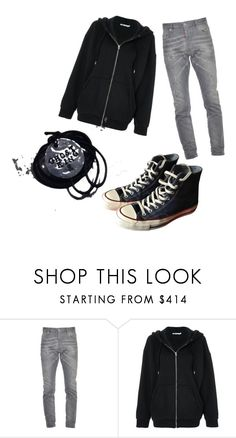 """""""Nico di Angelo"""" by luna-e ❤ liked on Polyvore featuring Dsquared2, T By Alexander Wang, Converse, men's fashion and menswear"""