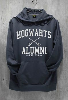 Hogwarts Alumni Shirt Harry Potter Shirt Hoodie Hoodies Sweatshirt Sweater Unisex Like this. Hoodie Sweatshirts, Sweater Hoodie, Hoodies, Disney Sweatshirts, Fashion Week, Look Fashion, Hakuna Matata, Lion King Shirt, Tattoo Shirts