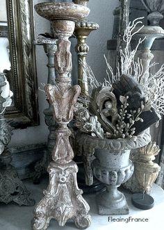 Vintage Silver Candlesticks.....