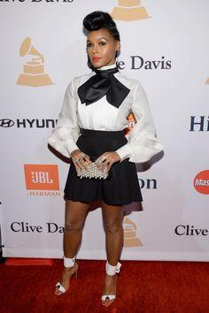 Pin for Later: Les Stars de la Musique S'éclatent à L'approche des Grammy Awards Janelle Monae