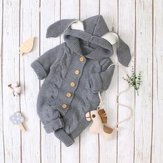 Unisex Baby Crew Neck Long-Sleeve Solid Color Romper Rock Will Save World Jumpsuit