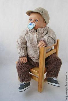 """Для новорожденных, ручной работы. Ярмарка Мастеров - ручная работа Комбинезон """"Мой медвежонок"""". Handmade."""