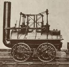 The first locomotive