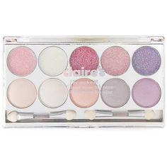 Berry Eyeshadow and Eye Glitz Palette (466.235 IDR) ❤ liked on Polyvore featuring beauty products, makeup, eye makeup, eyeshadow and palette eyeshadow