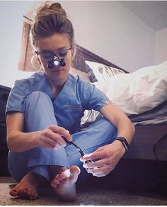 FInd time for yourself!  So disappointed to find out i havent been using my Loupes full potential! Thanks #MajorBabe Dental Student @dmdtobe ✨ #babesinscrubs…