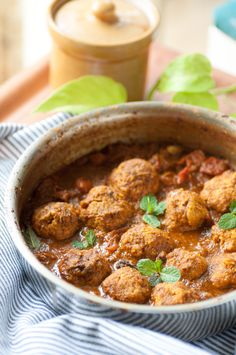 kofta curry is a beautiful combination of juicy chicken meatballs ...