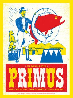 GigPosters.com - Primus ::: Poster by Aesthetic Apparatus ::: www.dutchuncle.co.uk