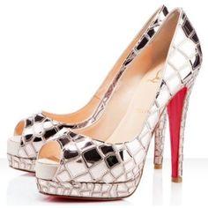 Chaussure Louboutin Pas Cher Pompe Sobek 140mm Brillant #redbottomshoes