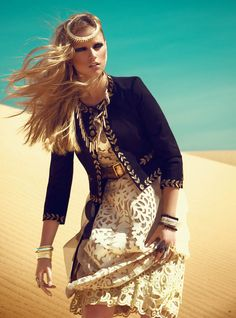 NOMAD ROYALTY   Marcelina Sowa   Kevin Sinclair #photography   Grazia UK June 2012 ........................... {2 of 6}