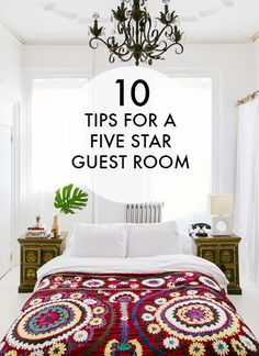 10 Tips For A Five Star Guest Room | eBay