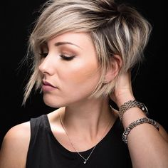 Short hair - Today I got a haircut and got to be a model for a quick second. That was fun. My talented friend @andrewdoeshair kills it with the shears and the camera.