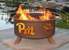 Pittsburgh Panthers Collegiate Fire Pit
