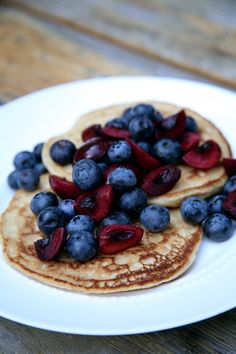 Pin for Later: 100-Calorie Fluffy and Sweet Vegan Pancakes