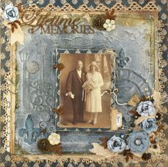 A layout about my Great Aunty Chris The front frame opens to another photo and journalling You can find more detail at http saveonscrapbookingnow com aunty chris html Heritage Scrapbook Pages, Vintage Scrapbook, Wedding Scrapbook, Scrapbook Page Layouts, Scrapbook Albums, Scrapbook Cards, Scrapbooking Ideas, Scrapbook Sketches, Digital Scrapbooking