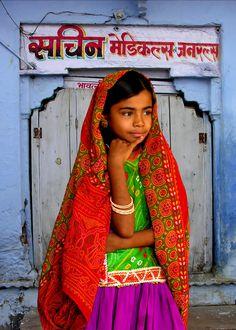 TRIBAL GIRL - INDIA