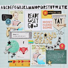 Ashley Horton Designs: Crate Paper | Second Grade