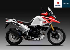 Suzuki, build us an affordable ADV bike - RevZilla Enduro Motorcycle, Moto Bike, Motorcycle Design, Sport Motorcycles, Suzuki Sv 650, Moto Suzuki, Honda Africa Twin, Motorcycle Manufacturers, Dual Sport
