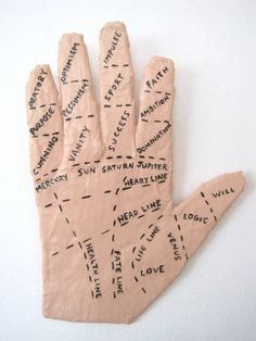 Hand of Fortune  Papier Mache Wall Art by jikits