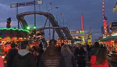 The Links Market is one of the largest travelling fairs in Europe. The market is an annual event in April and stretches for a mile along Kirkcaldy Esplanade