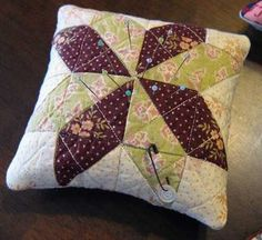 Excellent pin cushion tutorial! La vie en Rosie bog