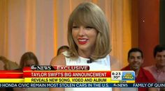 Taylor Swift - Good Morning America Interview (August 19th 2014)