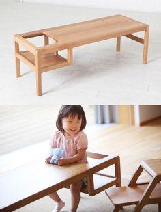 * Silla-mesa para los peques *