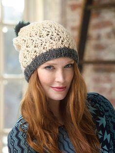Lacework Hat Pattern (Knit)