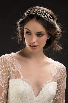 KleinfeldBridal.com: Maria Elena Headpieces & Accessories: Headpiece: : :