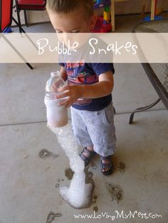 Bubble Snakes | Loving My NestLoving My Nest