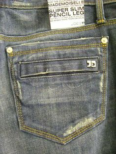 Joe's Jeans Back-Patch Pocket Spring 2010	 January