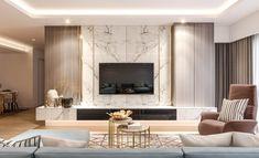 Modern Tv Room, Modern Luxury Bedroom, Living Room Modern, Luxurious Bedrooms, Interior Design Living Room, Bedroom Tv Unit Design, Tv Unit Interior Design, Living Room Tv Unit Designs, Apartment Interior Design