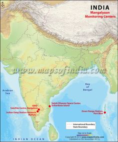 A very good map to find out the states and their respective capital indias mars orbiter mission mom through mangalyaan india became the first country to enter the mars orbit in its first attempt map showing the location gumiabroncs Images