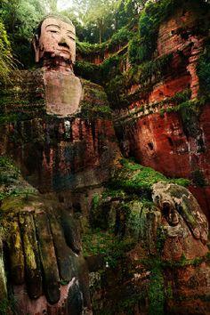 Big Buddha China by Suchet Suwanmongkol