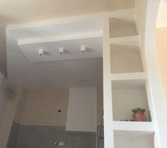 Cucina in costruzione #cartongesso #cucina #kitchen | Home-work in ...