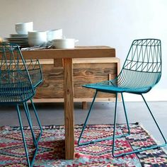 Blue Lucy chair by Bend Goods