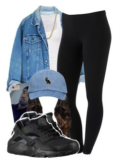 """they always updating something"" by lovebrii-xo ❤ liked on Polyvore featuring American Eagle Outfitters, ASOS and NIKE"