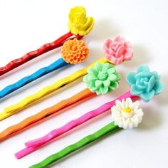 Colorful Bobby Pins
