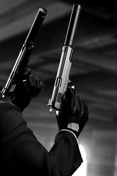 Dual pistols for fast/stealth zombie kill . Fire Machine, Machine Guns, Breathing Fire, Six Feet Under, Fire Powers, Cool Guns, Awesome Guns, Big Guns, Guns And Ammo