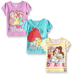 Disney Little Girls' 3 Pack Princess Tees, Yellow, 6X Disney https://www.amazon.com/dp/B013IXDJOO/ref=cm_sw_r_pi_dp_x_BvjSxbEYB6JTS