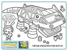 Octonauts on pinterest for Disney junior octonauts coloring pages
