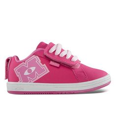 Pink Monsters University Fader Sneaker by etnies on #zulily