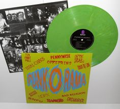 RKL , RANCID , OFFSPRING , NOFX , BAD RELIGION , SNFU , DOWN BY LAW PENNYWISE lp #punk