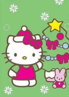 Hello Kitty Clothes, Hello Kitty Art, Hello Kitty My Melody, Hello Kitty Pictures, Hello Kitty Items, Sanrio Hello Kitty, Kitty Kitty, Hello Kitty Christmas, Hello Kitty Birthday