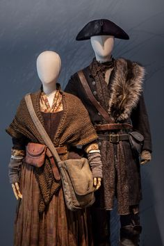 'Outlander': See the season 4 costumes that Terry Dresbach worried would be 'dull' Medieval Clothing, Historical Clothing, Renaissance Dresses, Victorian Dresses, Fantasy Character Design, Character Design Inspiration, Terry Dresbach, Outlander Season 4, Look Man