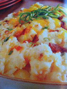 Easy crockpot recipes: Loaded Mashed Potatoes Crockpot Recipe