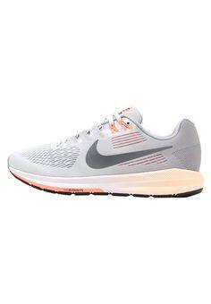 huge discount 35949 de08c AIR ZOOM - Chaussures de running stables - wolf grey dark grey pure  platinum   ZALANDO.FR 🛒