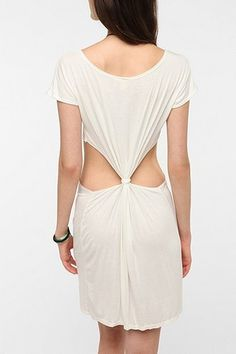 Urban Renewal Knot-Back Dress