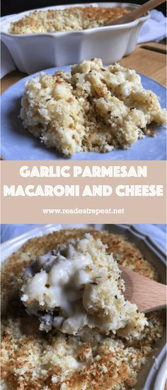 http://readeatrepeat.net/2018/05/14/garlic-parmesan-macaroni-and-cheese/