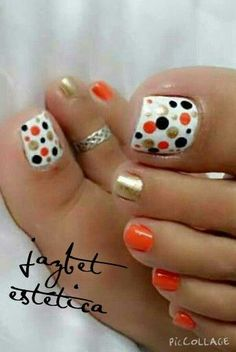 Installation of acrylic or gel nails - My Nails Pretty Toe Nails, Cute Toe Nails, Hot Nails, Toe Nail Art, Fancy Nails, Gel Toe Nails, Black Toe Nails, Nice Nails, Pretty Toes