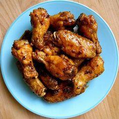 Adobo Chicken Wings!!! From Burnt Lumpia Filipino food blog. http://burntlumpiablog.com/2010/01/crispy-chicken-wings-with-adobo-glaze.html